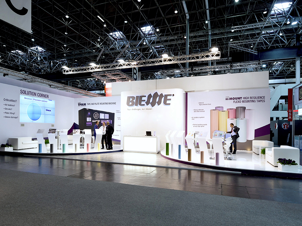 ULTIMO STAND REALIZZATO: BIESSSE - DRUPA 2016
