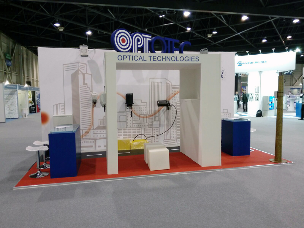 ULTIMO STAND REALIZZATO: OPTOTEC - FTTH 2017